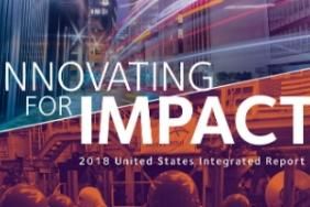 "Sustainability and business results align in ""Innovating for Impact,"" ArcelorMittal's 2018 United States Integrated Report Image"