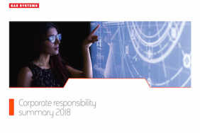 BAE Systems Publishes 2018 Annual Report and Corporate Responsibility Summary Image