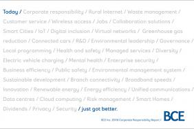BCE Publishes 26th Corporate Responsibility Report  Image
