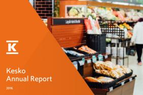 Kesko's Annual Report Tells About Kesko's Strategy Implementation and Renewal Image