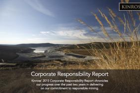Kinross Gold Releases Corporate Responsibility Report Image