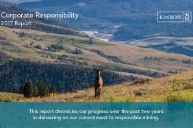 Kinross Releases 2017 Corporate Responsibility Report  Image
