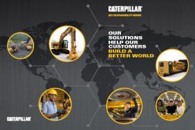 Caterpillar Helps Customers Build a Better World Image