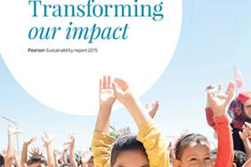Pearson Launches 2015 Sustainability Report Image