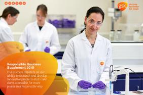 GSK Publishes Annual Report and Responsible Business Supplement 2015 Image