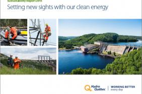 Hydro-Québec Publishes Its Sustainability Report 2015 Image