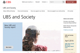Making Sustainability the Everyday Standard at UBS Image