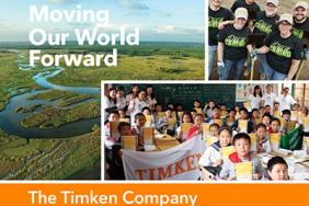 Timken Issues CSR Report, Demonstrating Commitment to Move the World Forward, for Good Image