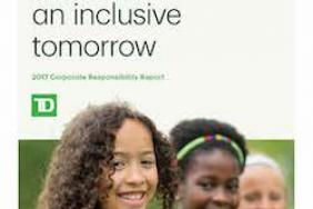TD Bank Group Releases 2017 Corporate Responsibility Report Image