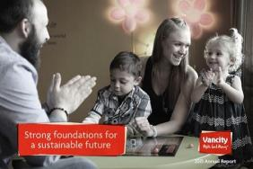 Vancity's 2015 Annual Report Outlines How Strong Foundations Can Lead to a Sustainable Future Image