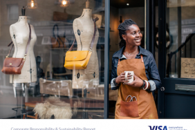 Visa Details Global Leadership and Progress in Latest Corporate Responsibility and Sustainability Report Image