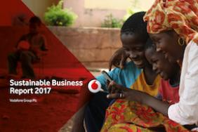 Vodafone Group Plc Sustainable Business Report 2017 Image