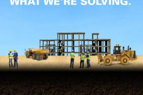 """Caterpillar's 2015 Sustainability Report: """"What We've Built. What We're Solving."""" Image"""