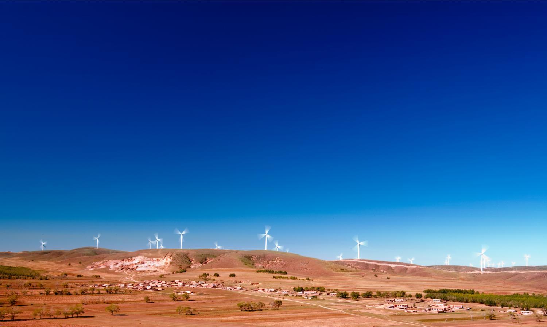 wind turbines China