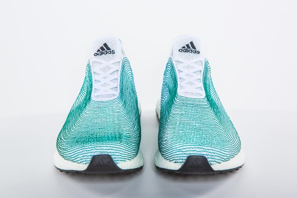 Adidas Designs Sneakers Made Entirely from Ocean Waste