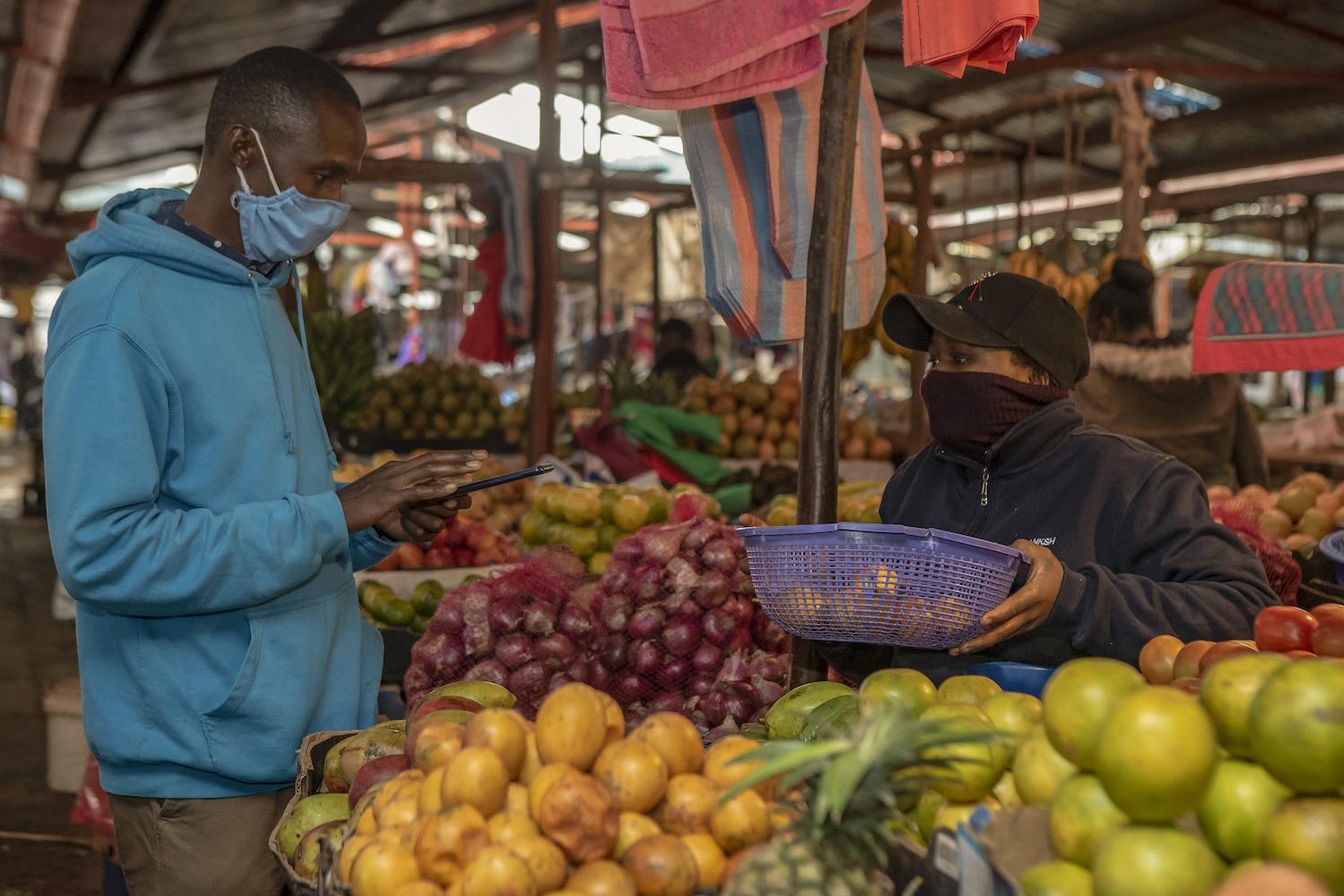market in Africa