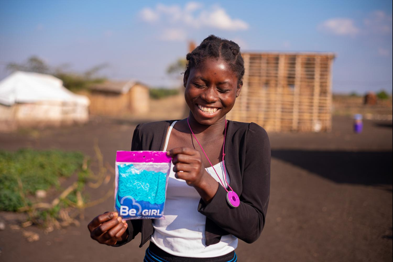 Be Girl - Sofala Resettlement Camps Mozambique - Ending Stigma Around Menstruation
