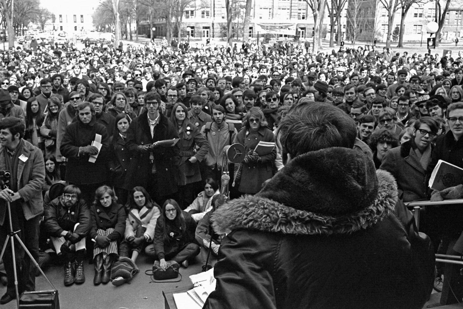 Earth Day 1970 University of Michigan