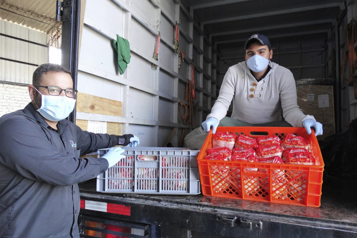 food donations fight hunger COVID-19
