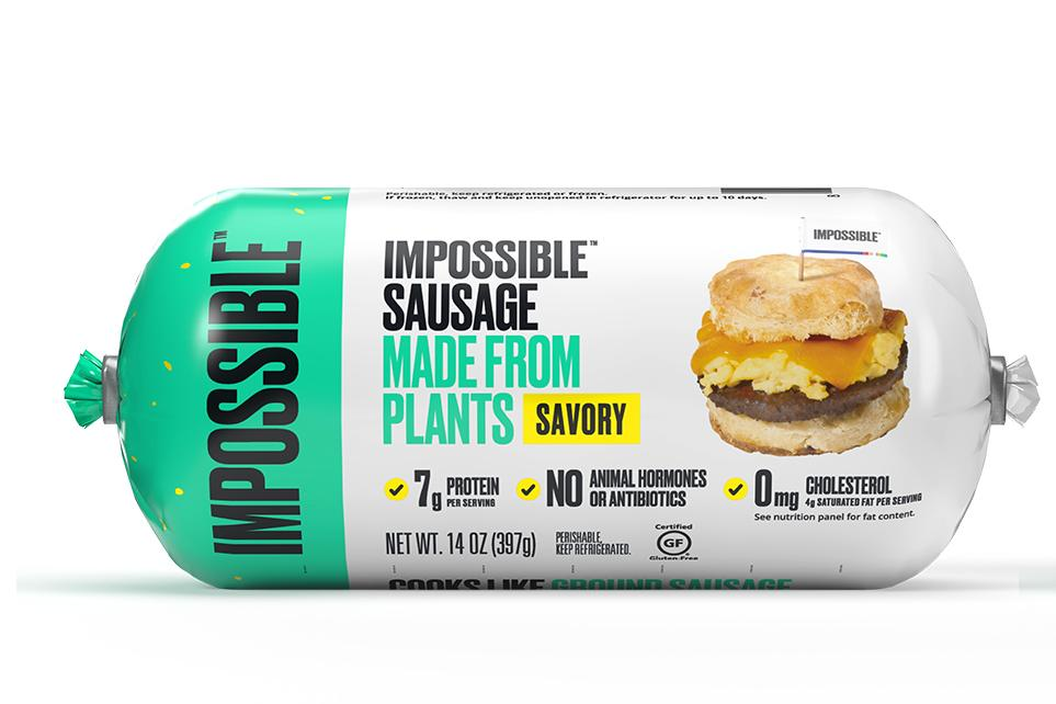 Plant-Based Sausage