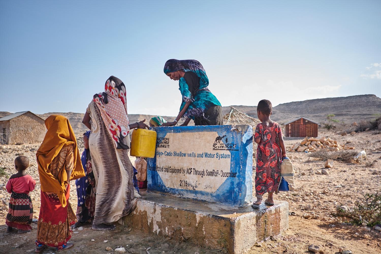 water access Somalia