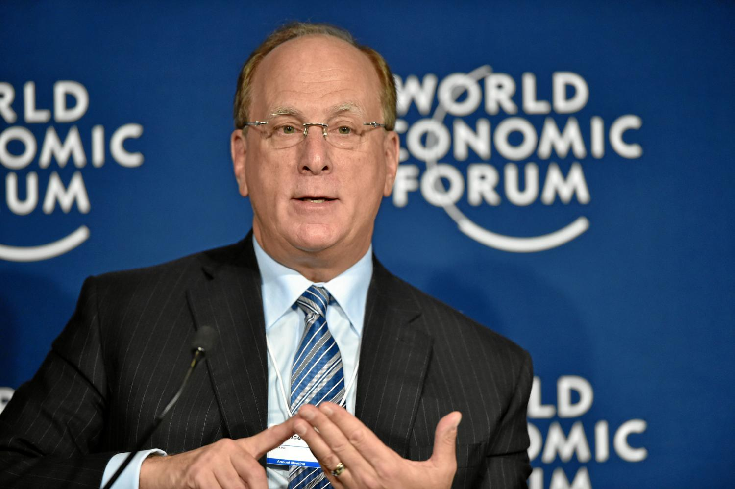 Larry Fink is in the news again, urging business to step into a leadership vacuum in a divided world.