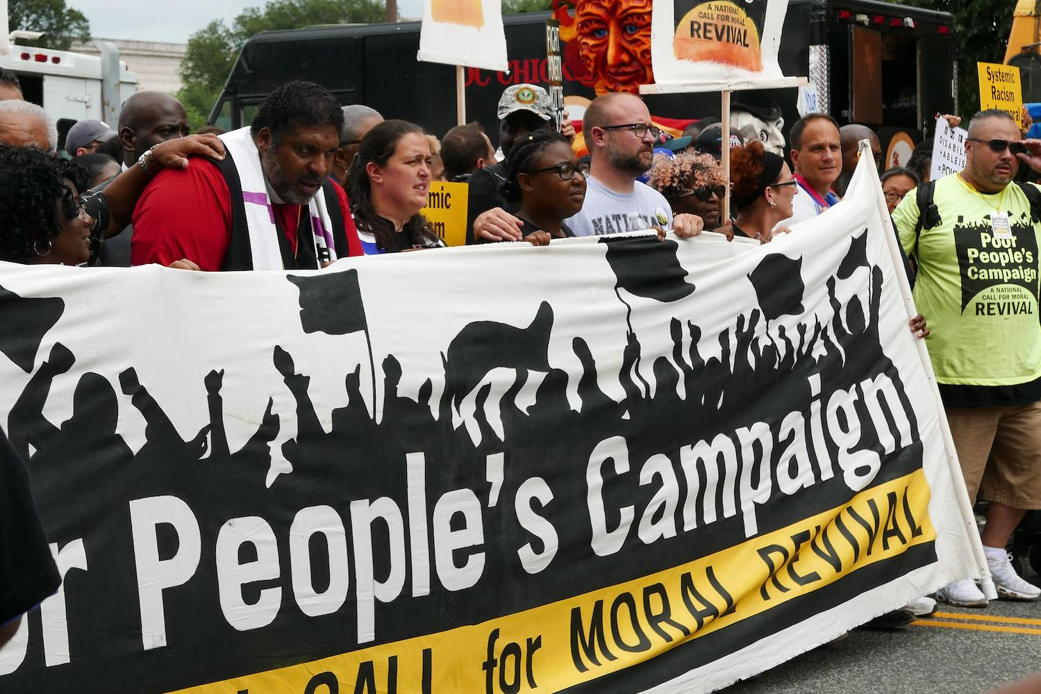 Poor Peoples Campaign end systemic racism and poverty