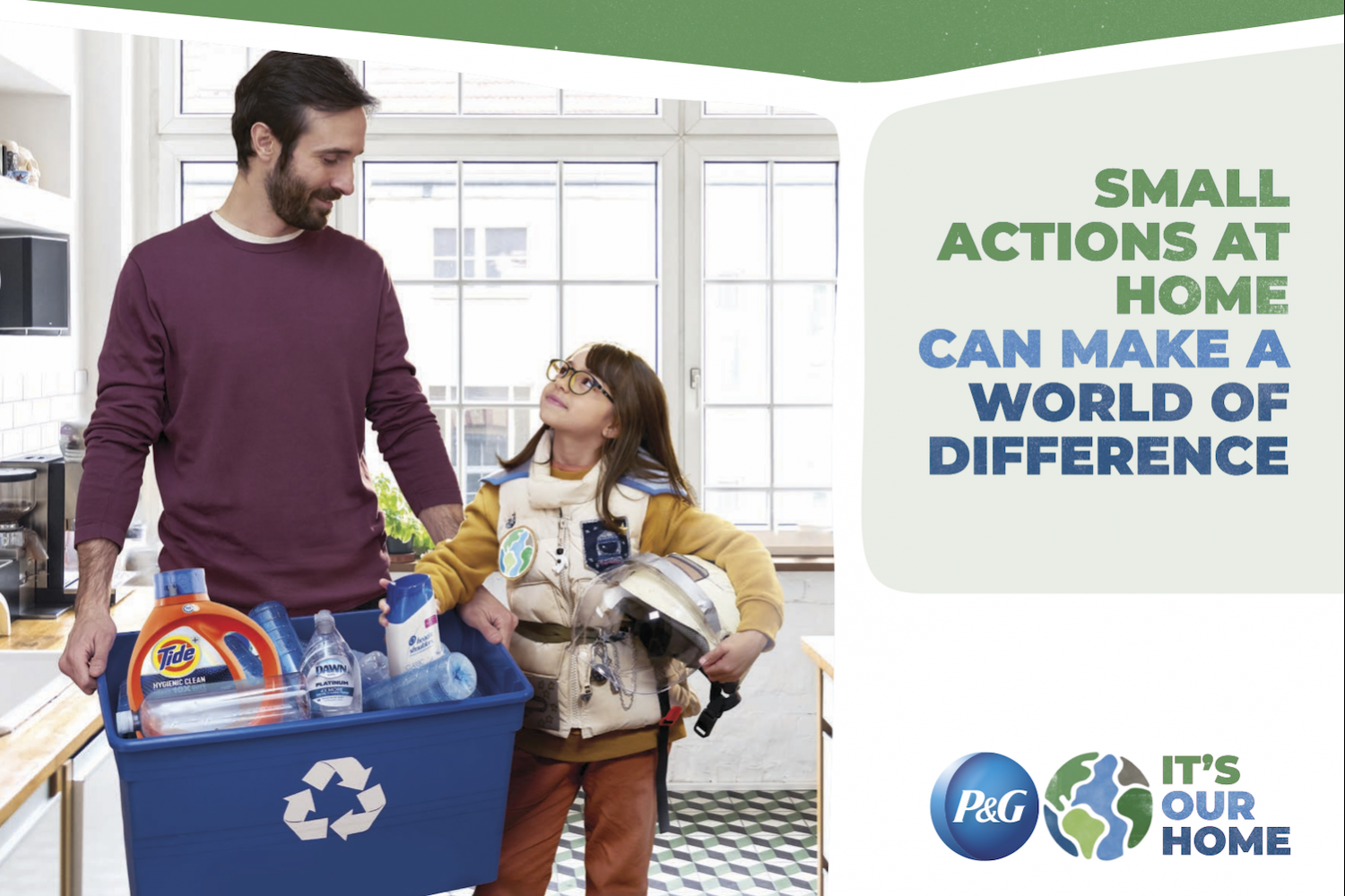Procter and Gamble Small Actions at Home