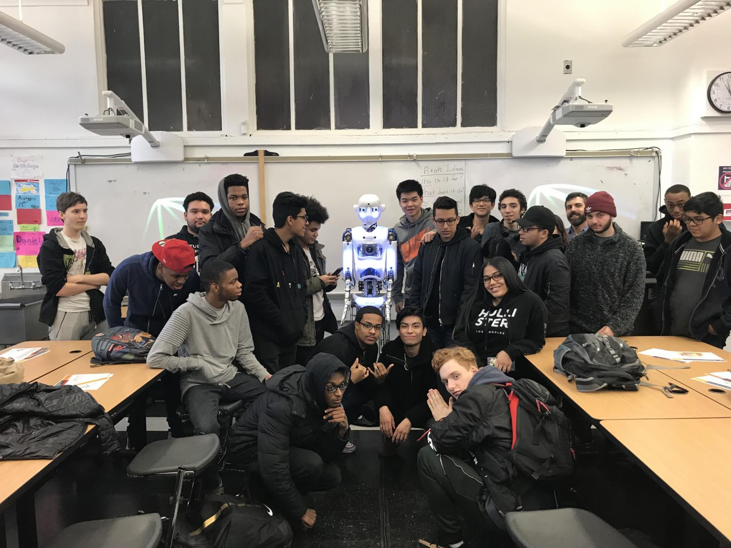 In NYC, PwC Rolls Out Robots to Help Students Learn Tech