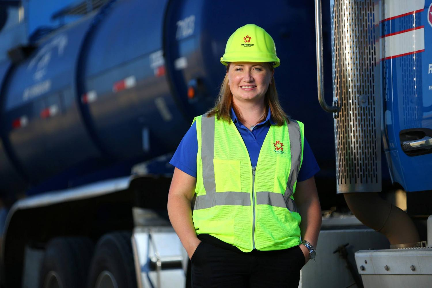 When it comes to hiring women in non-traditional fields, the global recycling and hazardous waste company Republic Services has made its mark.