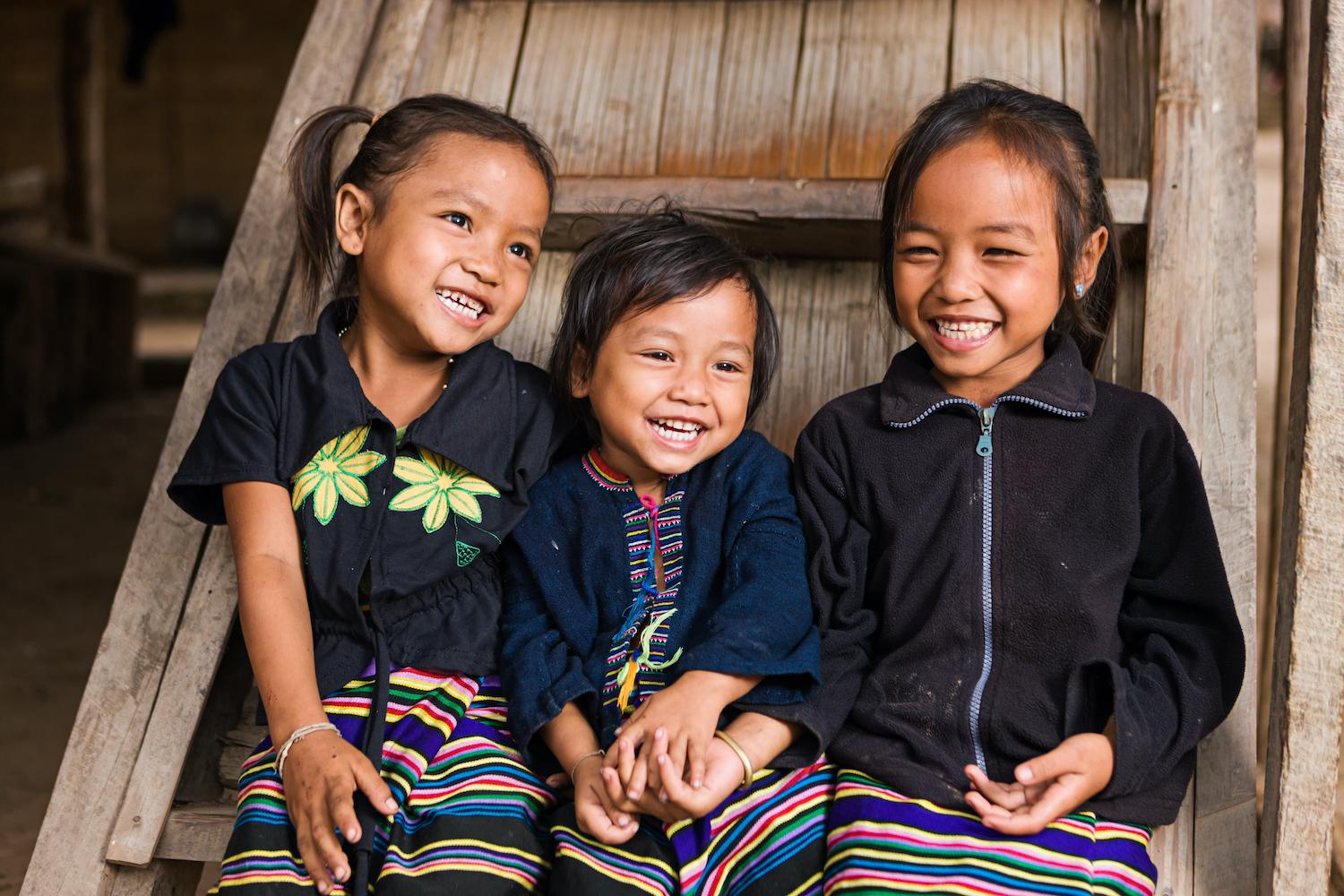 three children - Responding to a Pandemic with Solidarity and Purpose