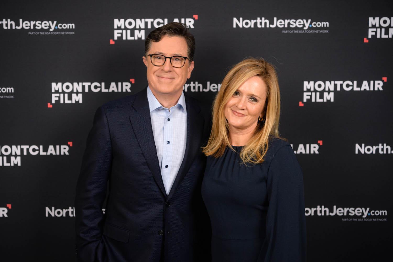 late-night hosts Stephen Colbert and Samantha Bee