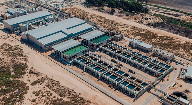 Israel, the Water Superpower The-Sorek-Desalination-Plant-in-Israel-provides-20-percent-of-the-countrys-municipal-water