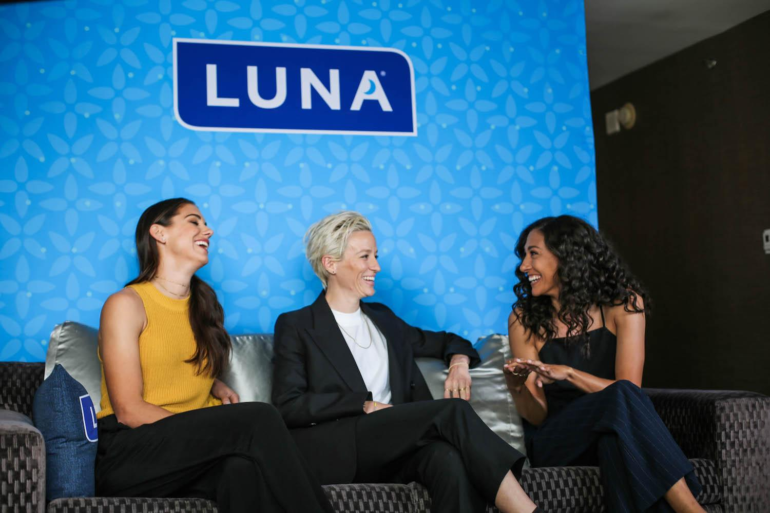 Luna Bar U.S. women's soccer players pay equality brands taking stands activism