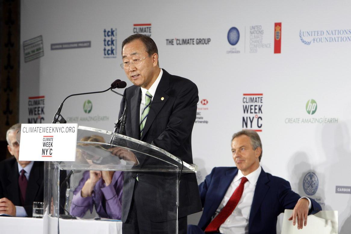 Ban Ki Moon Climate Week NYC