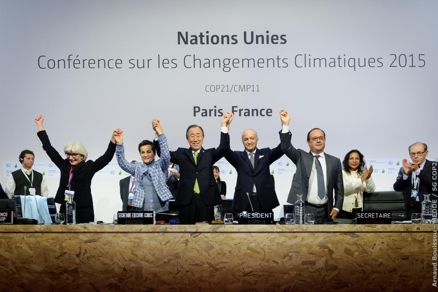 COP21 Paris agreement adopted