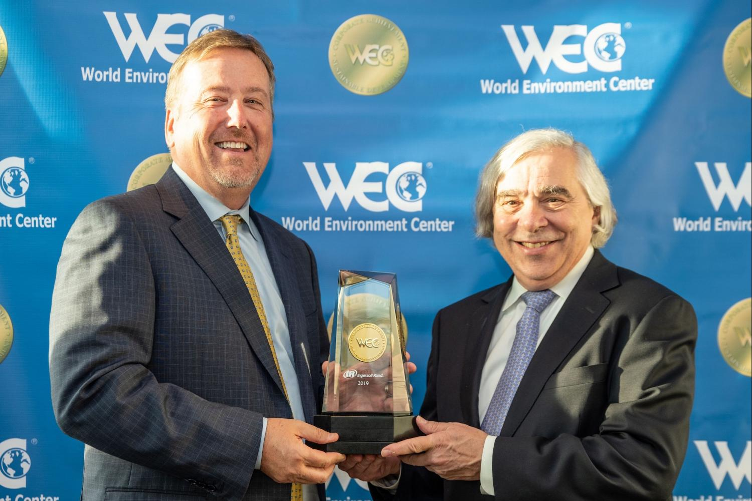 Ingersoll Rand sustainability award