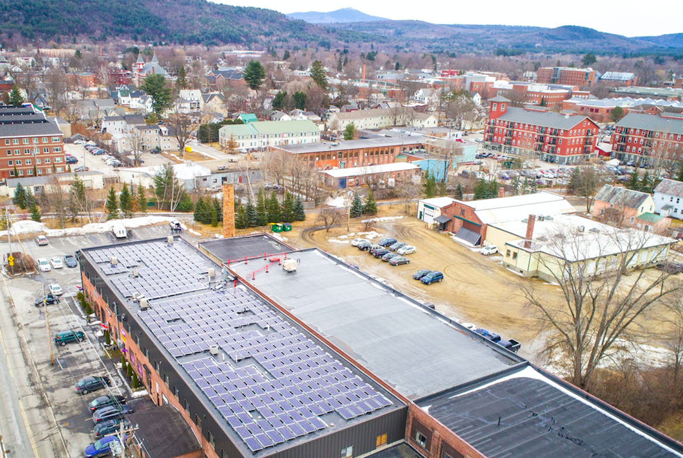 Keene, New Hampshire, was in the news earlier this year over a new restaurant's controversial name. But now the town can boast about its role in the renewables revolution.