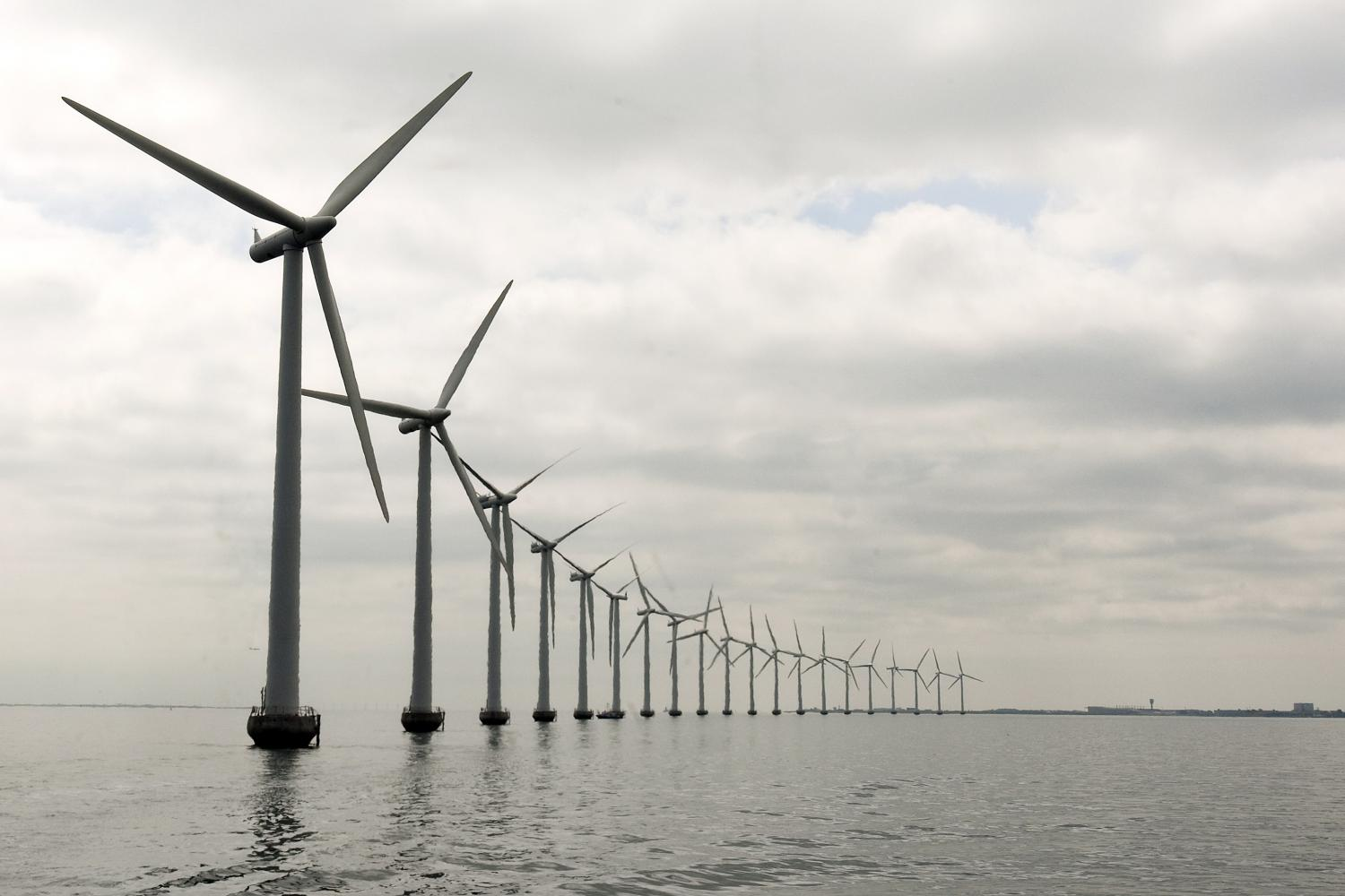 offshore wind energy contribution to global electricity