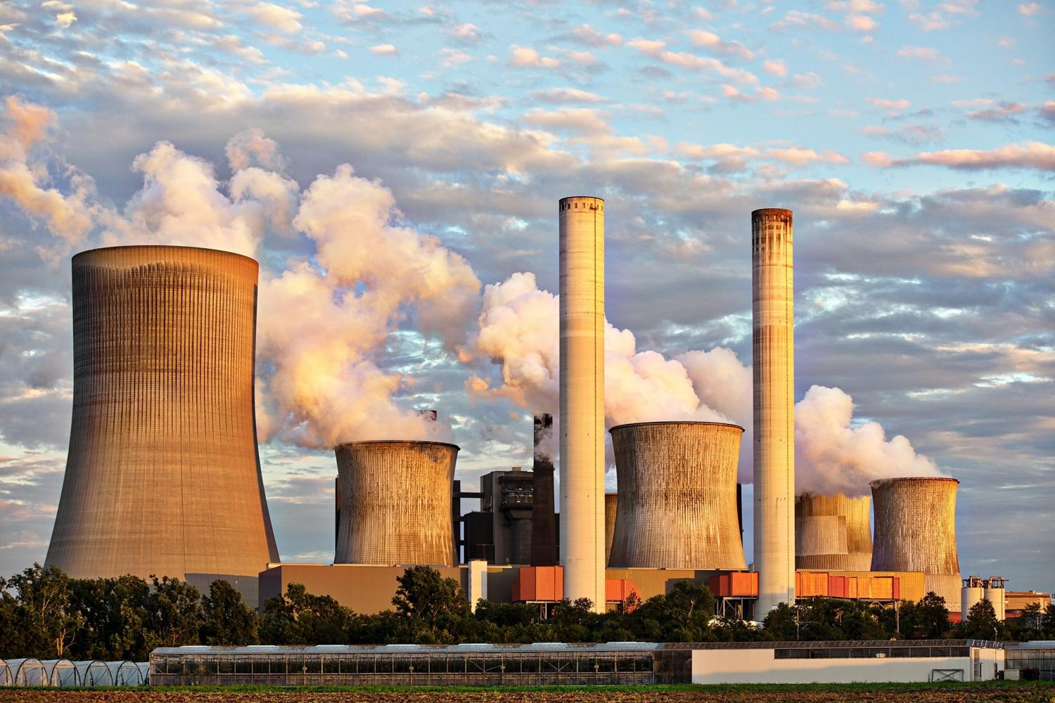power plant air pollution climate change