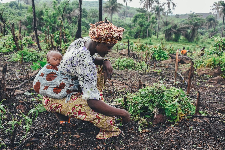 women smallholder farmers