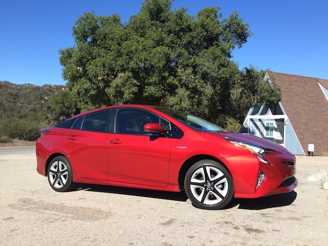 This Past September Triple Pundit Was On The Scene When Toyota Premiered A Sporty Red 2016 Prius In Las Vegas For Photographers And Just Last Week