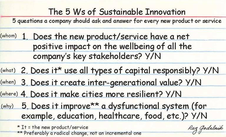 triple pundit sustainable innovation 5 questions every company